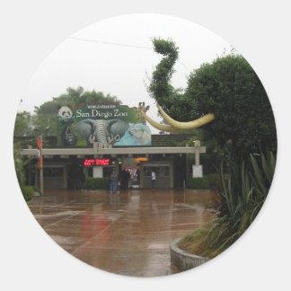 San Diego Zoo Round Sticker