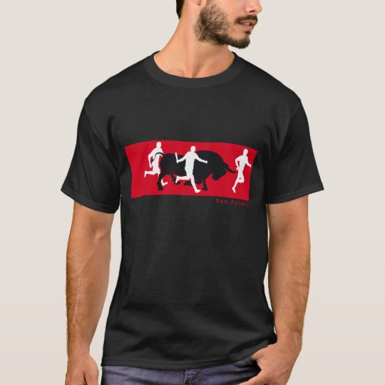 San Fermin, Pamplona: running with the bulls, T-Shirt