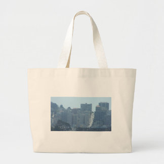 san fran city jumbo tote bag