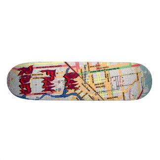 San Fran Rider The MUSEUM Zazzle Gifts Skateboards