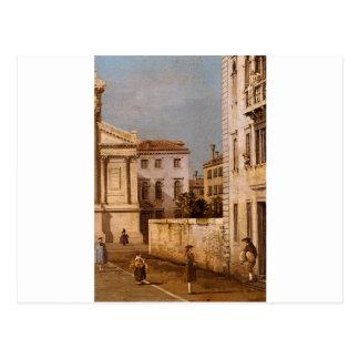 San Francesco della Vigna, Church And Campo Postcard