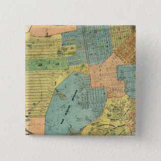 San Francisco 15 Cm Square Badge