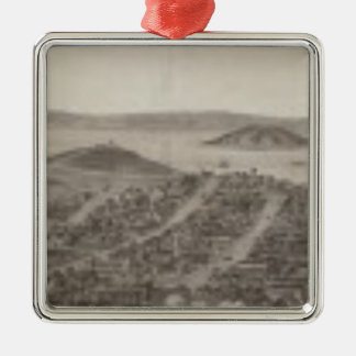 San Francisco, 1862 from Russian Hill Christmas Ornament
