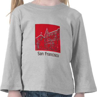 San Francisco 1986 Ghirardelli Square The MUSEUM Tee Shirts