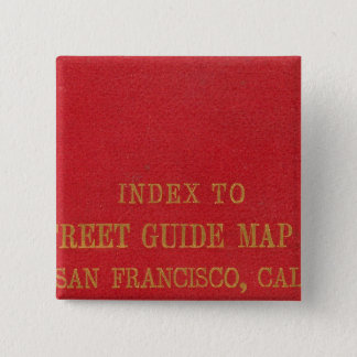 San Francisco 2 15 Cm Square Badge