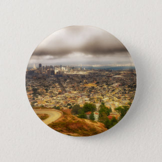San Francisco 6 Cm Round Badge