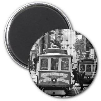 SAN FRANCISCO 6 CM ROUND MAGNET