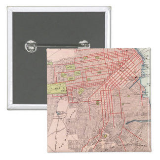 San Francisco 7 15 Cm Square Badge