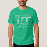 San Francisco Airport Code T-shirts