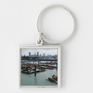 San Francisco and Pier 39 Keychain