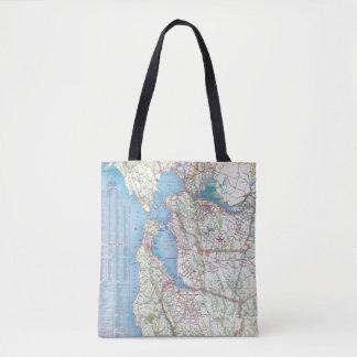 San Francisco and Vicinity Tote Bag