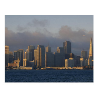 San Francisco as the Fog Lifts Post Card