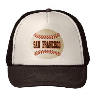 SAN FRANCISCO BASEBALL TRUCKER HATS