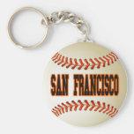 SAN FRANCISCO BASEBALL KEY CHAINS