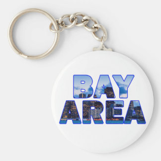 San Francisco Bay Area 016 Basic Round Button Key Ring