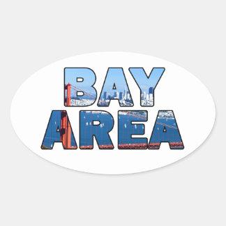 San Francisco Bay Area Oval Sticker