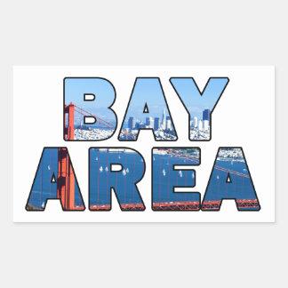 San Francisco Bay Area Rectangular Sticker