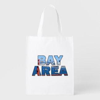 San Francisco Bay Area Reusable Grocery Bag