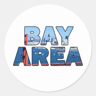 San Francisco Bay Area Round Sticker
