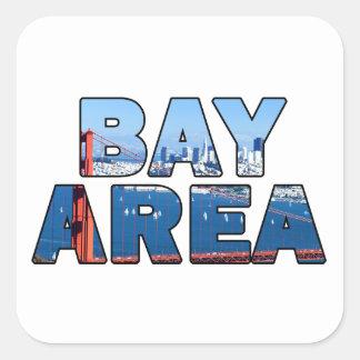 San Francisco Bay Area Square Sticker