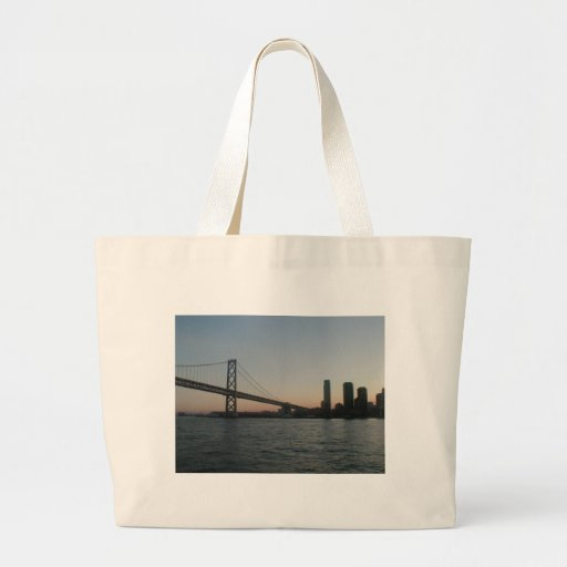 San Francisco Bay Canvas Bag