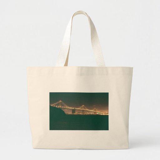 San Francisco Bay Bridge Canvas Bags