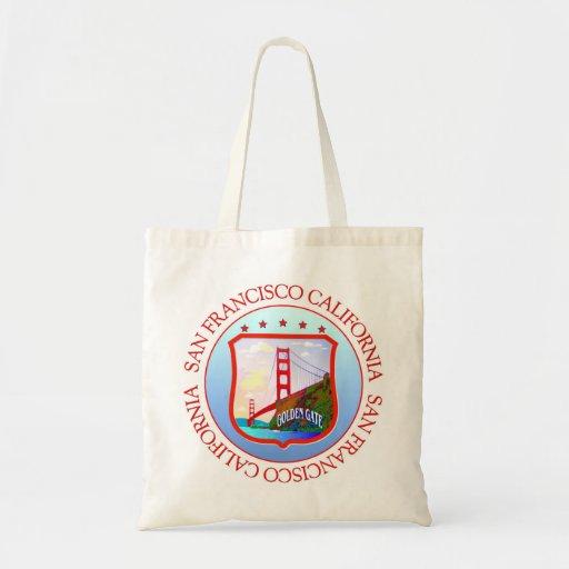 San Francisco Bay California Canvas Bag