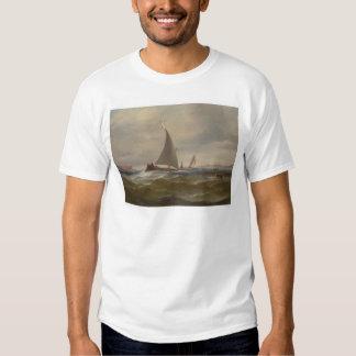 San Francisco Bay Felluca (1314) Tee Shirts