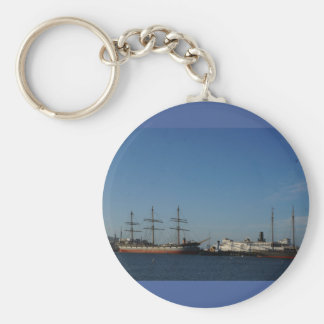 San Francisco Bay Keychain