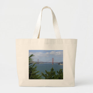 San Francisco Bay Seen From The Precidio Tote Bags
