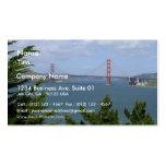 San Francisco Bay Seen From The Precidio Business Card Template
