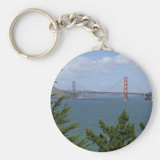 San Francisco Bay Seen From The Precidio Key Chain