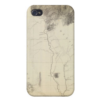 San Francisco Bay to N boundary of California iPhone 4/4S Case