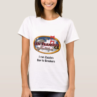 San Francisco Bay with personalized words T-Shirt