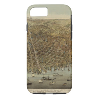San Francisco Birds eye view iPhone 8/7 Case