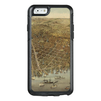 San Francisco Birds eye view OtterBox iPhone 6/6s Case