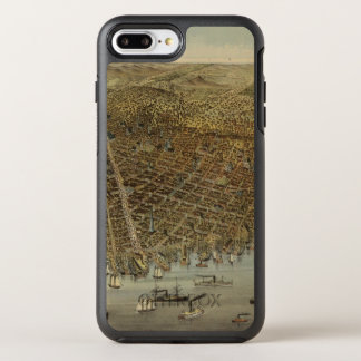 San Francisco Birds eye view OtterBox Symmetry iPhone 7 Plus Case
