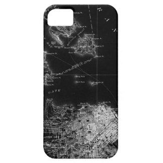 San Francisco Black and White Map Barely There iPhone 5 Case
