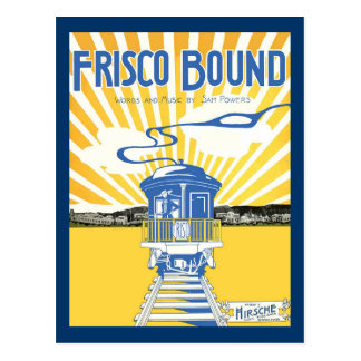 San Francisco Bound Post Cards