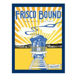 San Francisco Bound Postcard