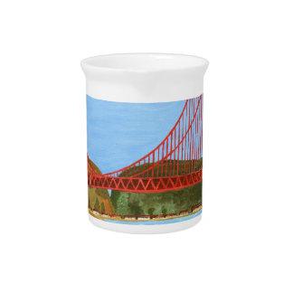 San Francisco Bridge Pitcher