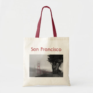 San Francisco Bridge Tote Budget Tote Bag