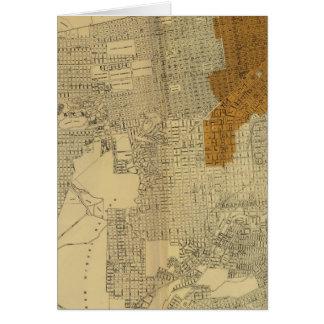 San Francisco burnt area, 1906 Card
