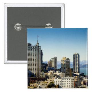 San Francisco, CA 15 Cm Square Badge