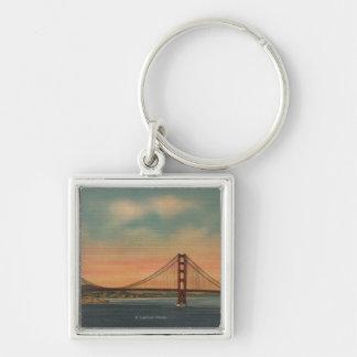 San Francisco CA 2 Keychain