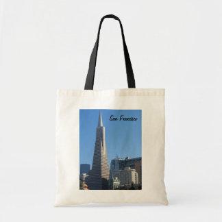 San Francisco, CA Budget Tote Bag