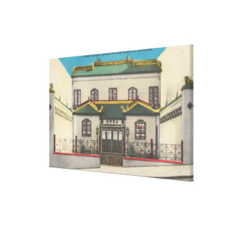 San Francisco, CA Chinese School in Chinatown Canvas Print