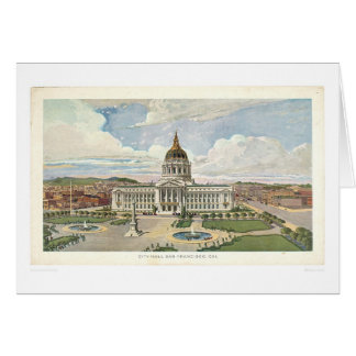 San Francisco, CA. City Hall (0286A) Card