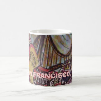 SAN FRANCISCO, CA COFFEE MUG