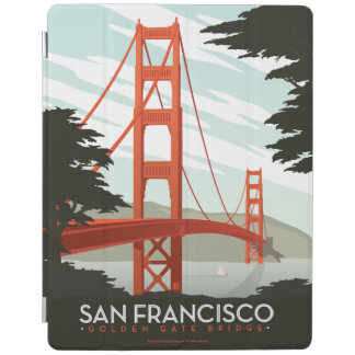 San Francisco, CA - Golden Gate Bridge iPad Cover